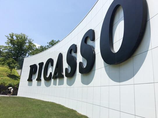 彫刻の森美術館,ピカソ展示館
