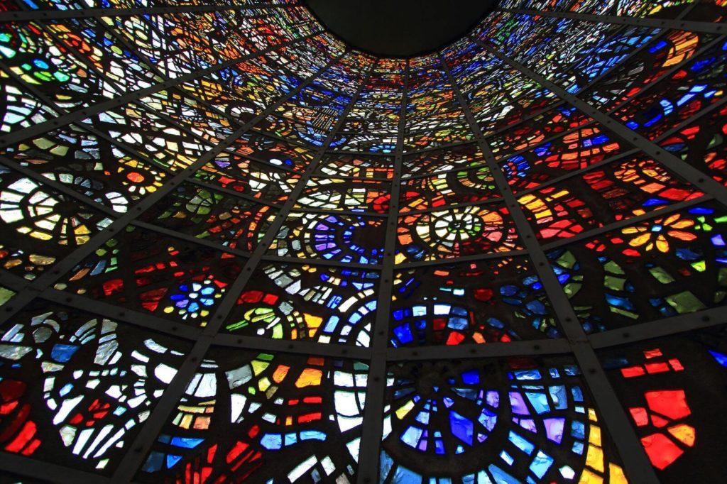 彫刻の森美術館,ステンドグラス